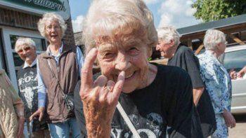 escaparon del geriatrico para ir a un festival de heavy metal