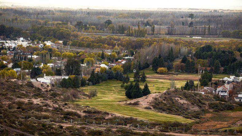 Quiroga defendió la cancha de golf  del Rincón Club