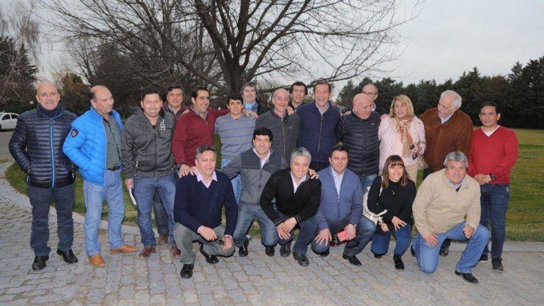 Ex intendentes se sumaron en apoyo de Gutiérrez 2019