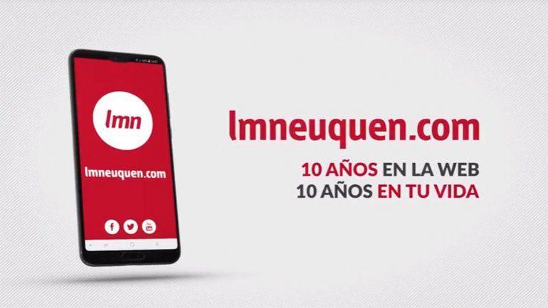 LMNeuquen.com cumple 10 años: distintos formatos, la misma información