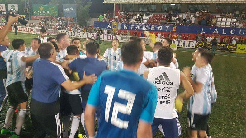 Sorpresa: Argentina se consagró campeón Sub-20 del Torneo de L´Alcudia