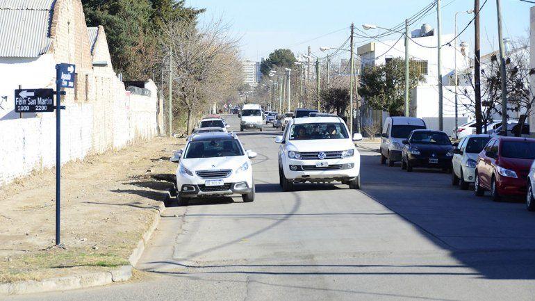 El martes cambiará de sentido un tramo de la calle Aguado