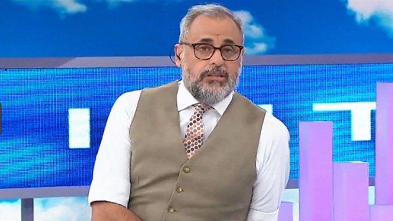 Jorge Rial volvió a Intrusos y habló de la salud de Morena