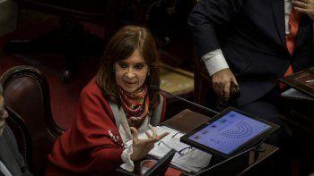 CFK: Estamos rechazando un proyecto sin proponer nada