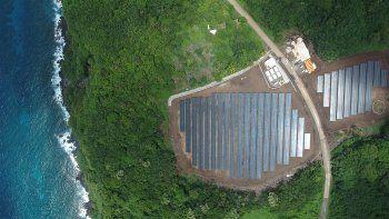 Los del Pacífico Sur ya cuentan con cinco plantas solares, un parque eólico y varias plantas hidroeléctricas que generan el 48% de su electricidad actual.