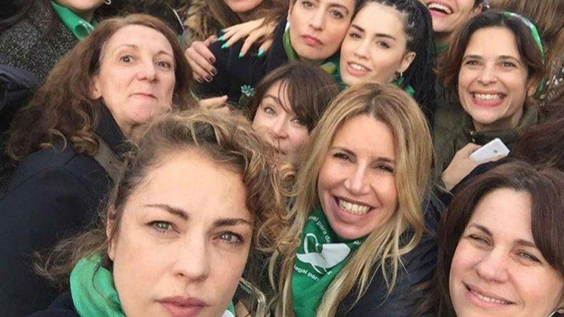Las famosas verdes prometen seguir la lucha