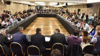la politica patagonica rechazo las medidas de ajuste de nacion
