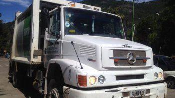 sin recoleccion de residuos por el accidente de empleado municipal