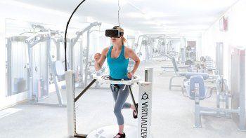 la realidad virtual, muy util para quemar calorias