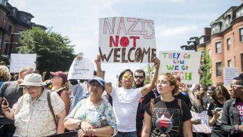 ee.uu.: preocupa la manifestacion racista prevista para hoy