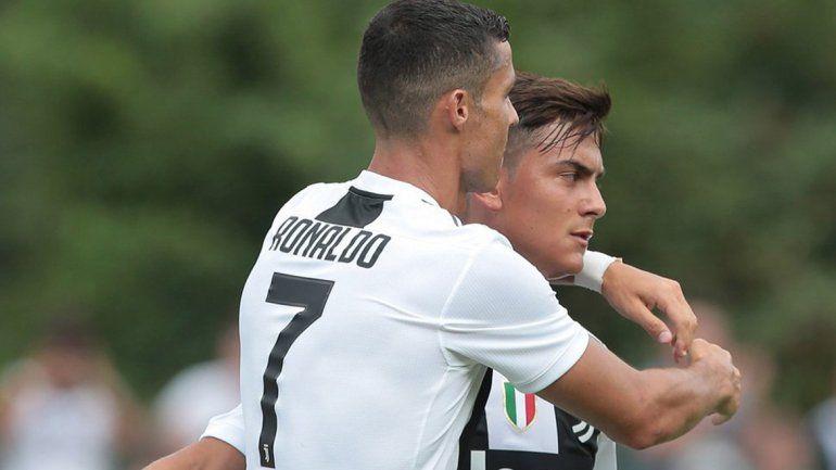 Cristiano y Paulo comienzan a entenderse a puro gol en Juventus