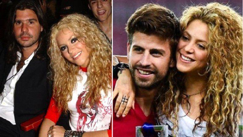 Shakira  confirmó que le fue infiel a Antonio De la Rúa con Gerard Piqué