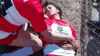 impactante batalla campal en el futbol femenino