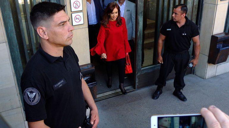 CFK les pidió a los militantes que no vayan a Tribunales