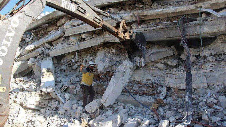 Tragedia en Siria por el estallido de un depósito