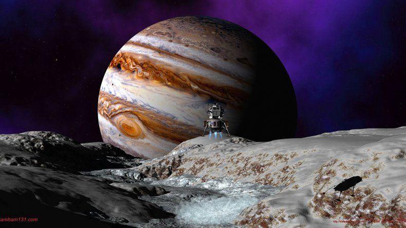 La NASA tiene planeado lanzar en los próximos años una misión de sobrevuelo para determinar el mejor punto para enviar un módulo de aterrizaje.