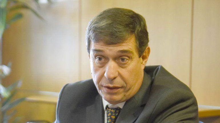Norberto Bruno fue quien participó del encuentro realizado hoy en la Casa de Salta en Buenos Aires.