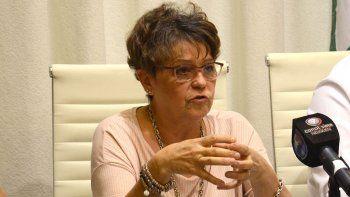 la ministra storioni dijo que hoy se garantizara el operativo aprender