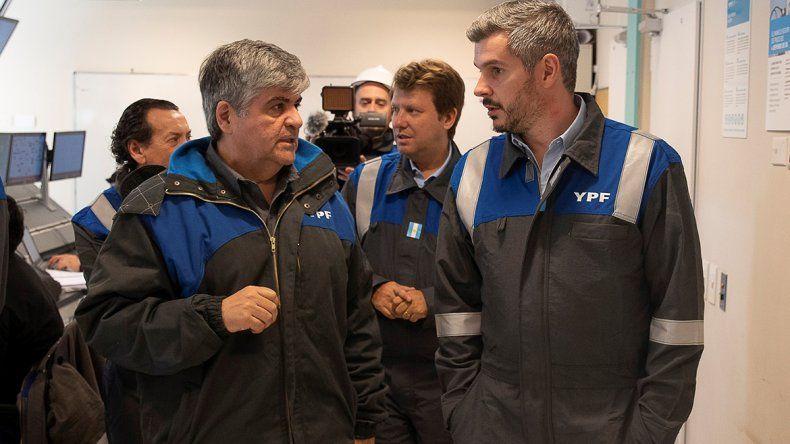 YPF presentó avances en Loma Campana durante la visita de Marcos Peña
