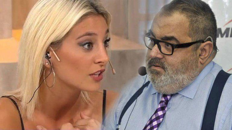 Sol Pérez le contestó a Lanata: Se ve que me mira el culo por Instagram