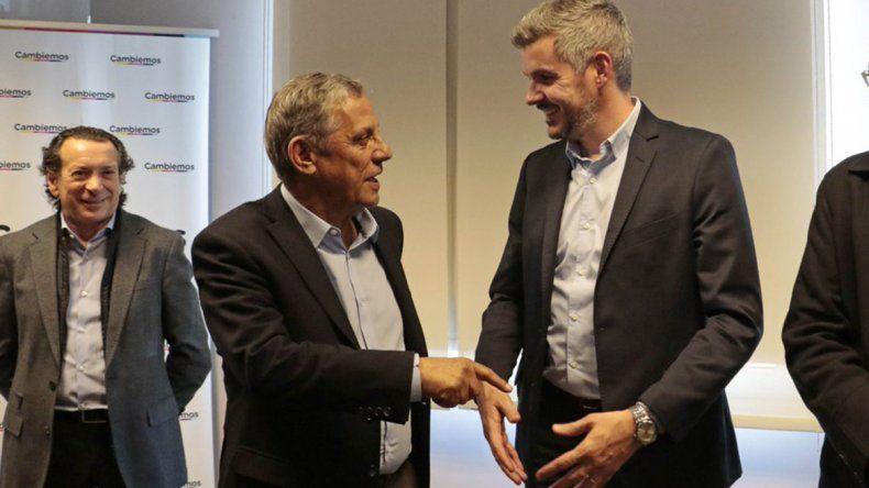 Pechi Quiroga recibió a Marcos Peña: Somos oficialistas en las buenas y en las malas
