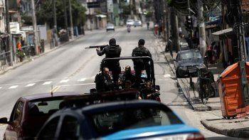 La guerra no cesa en las favelas y la militarización aumenta.