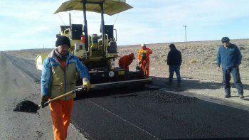en octubre estaria listo  el asfalto en  la ruta 14