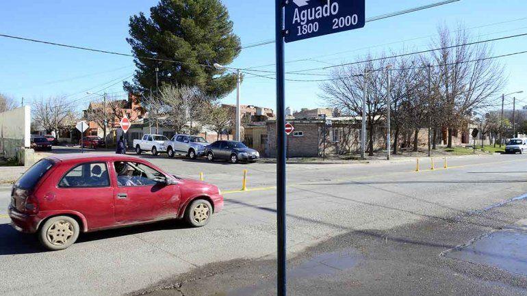 La calle Aguado tendrá sentido único a partir de hoy