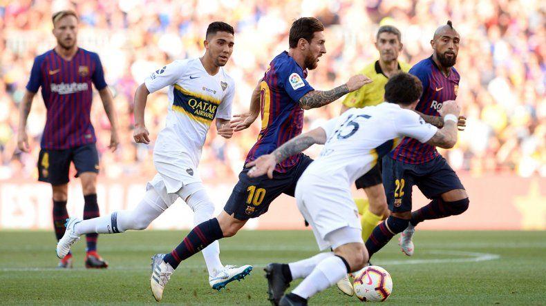 Amistoso Internacional: Boca perdió ante el Barcelona por 3 a 0