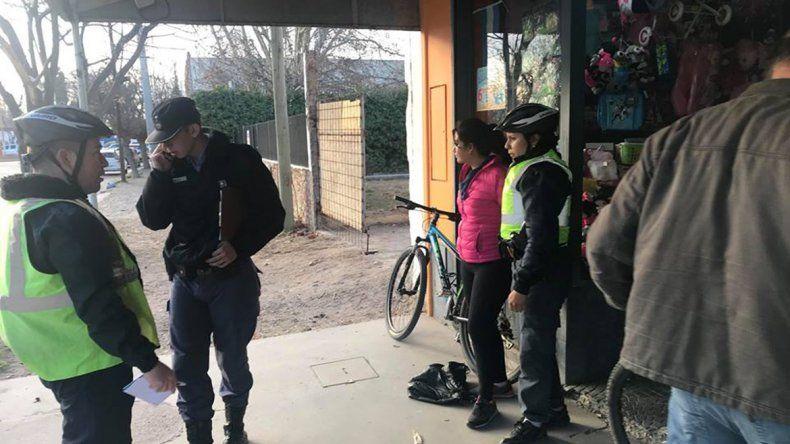 Comerciante corrió a una mechera, la atrapó y la retuvo hasta que llegó la policía