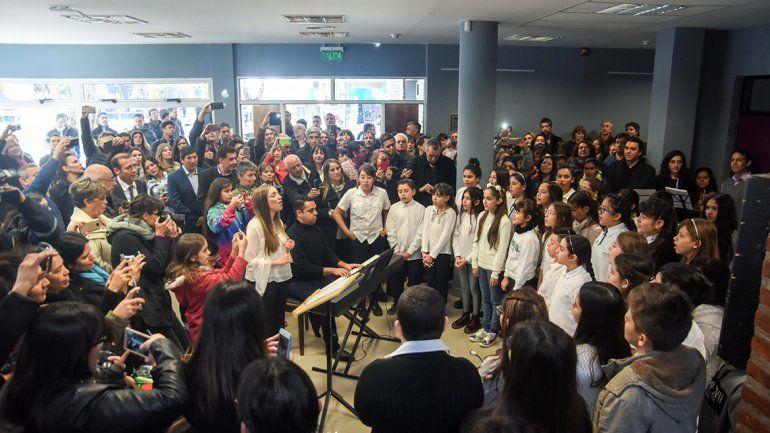 Inauguraron la ampliación de la Escuela de Música