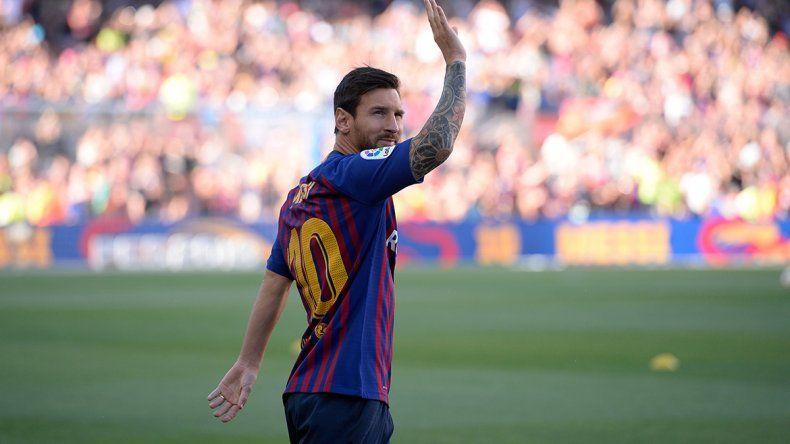 Messi prefirió el silencio al final del partido y no habló de la Selección