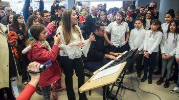 la escuela de musica ya tiene ocho nuevas aulas