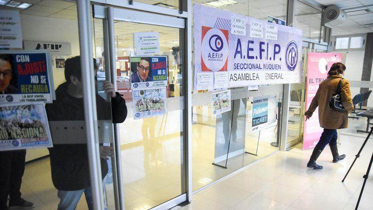 No hay atención al público en AFIP por una protesta de empleados
