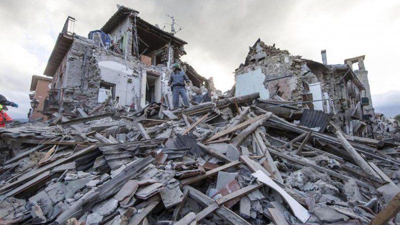 El temblor fue anoche y en principio sólo se registraron daños leves.