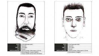 difunden identikit de los autores del asesinato de gatti