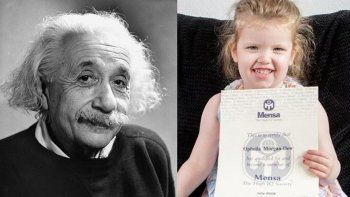una nena de 3 anos  es mas inteligente que einstein