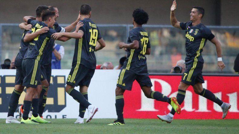 Juventus ganó en el debut de Cristiano