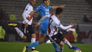 river es dueno del partido pero no llega el gol: 0 a 0 con belgrano