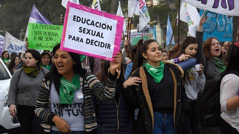Educación sexual: los jóvenes ganan lugar en el debate