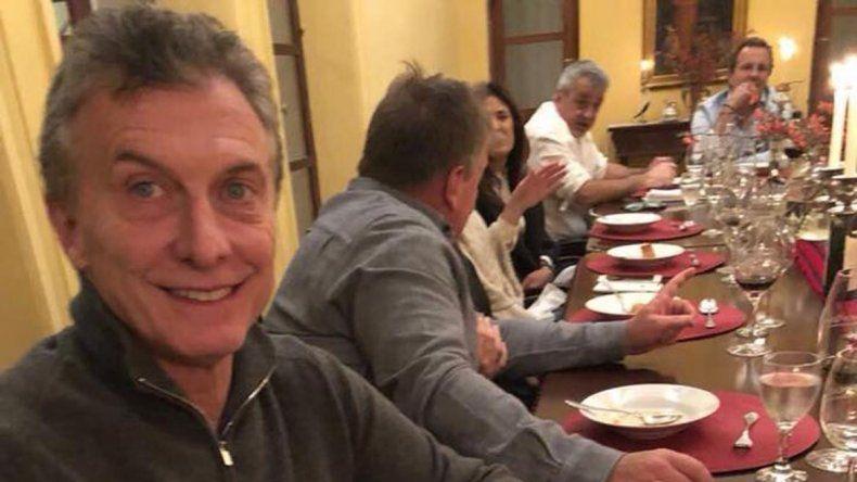 Macri recibió el saludo de un emblemático jugador de la Selección subcampeona