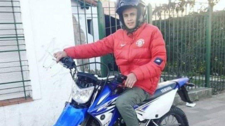 Iván Echeverría salía de trabajar cuando fue atacado por motochorros.