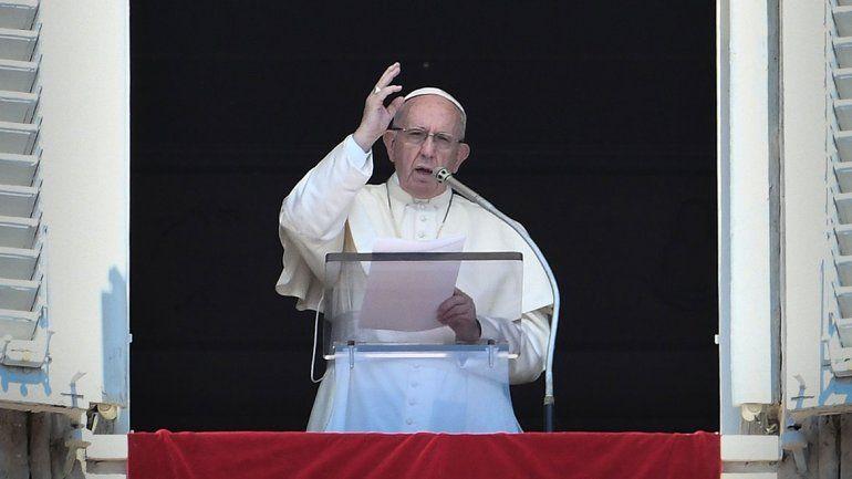 El papa Francisco, con vergüenza y arrepentimiento