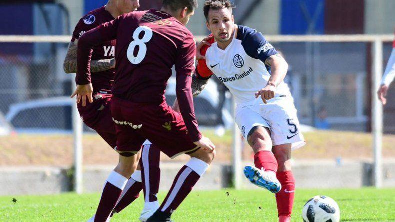 Franco Mussis jugó en reserva y su regreso es inminente.