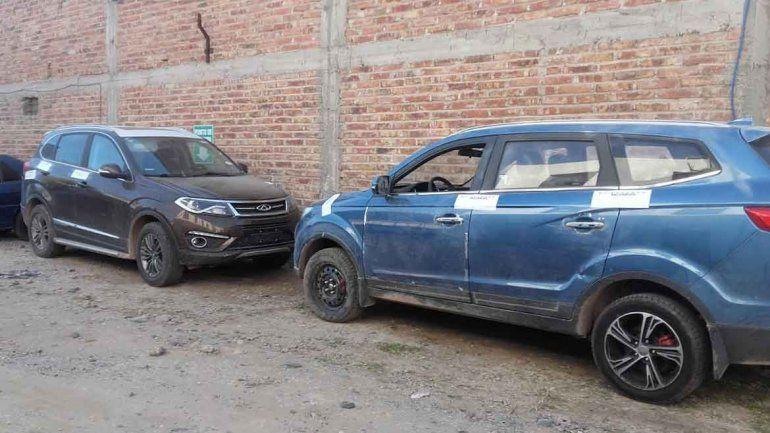 Las camionetas fueron recuperadas por Sustracción de Automotores.