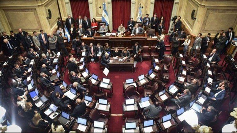 El Senado aprobó la ley de extinción de dominio