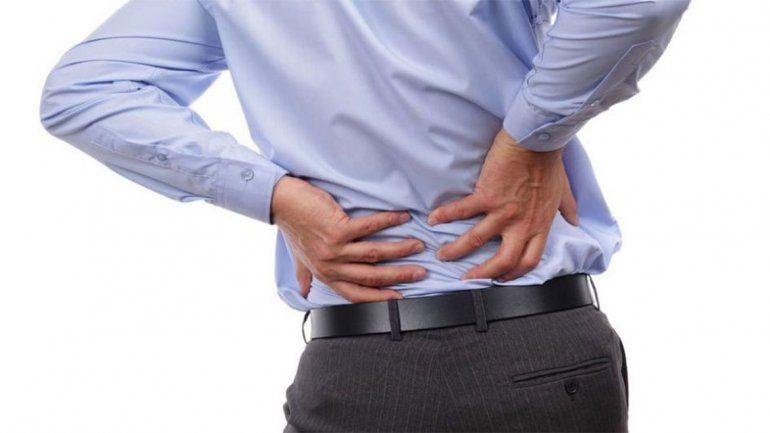 Otorgan turnos gratuitos a personas con dolor de espalda