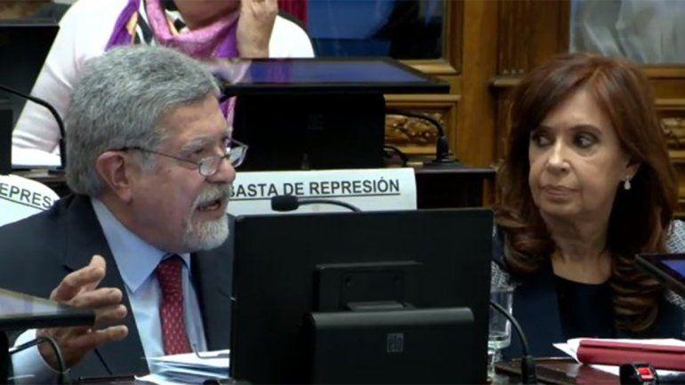 Marcelo Fuentes pidió a los senadores rechazar los allanamientos a Cristina