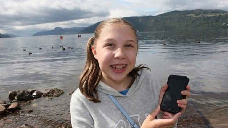 Con un iPhone