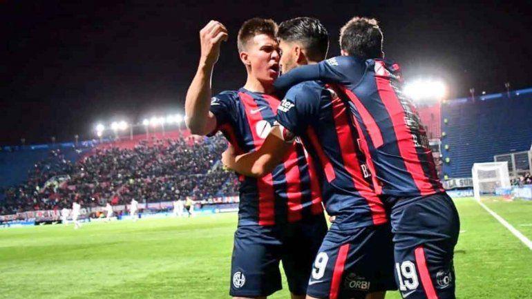 San Lorenzo ganó 3 a 1 ante Nacional en los octavos de la Sudamericana